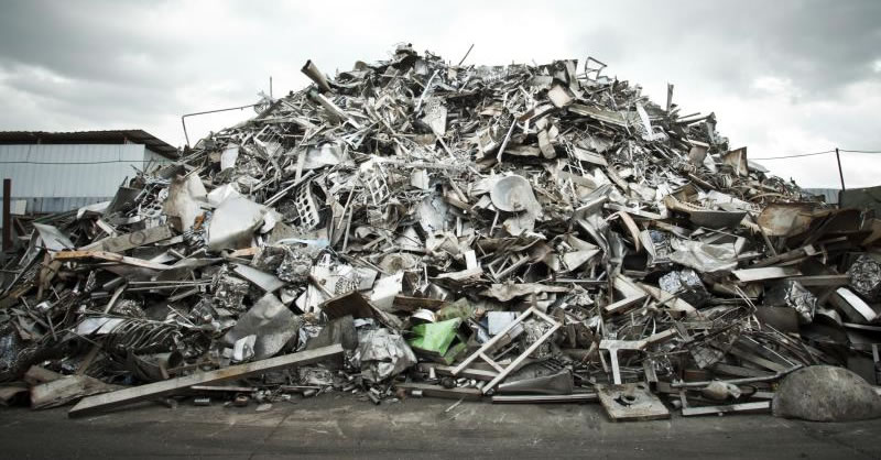 Scrap Metal Recycling Yards, Toronto, Ontario